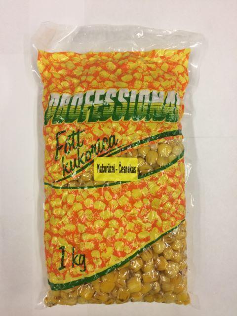 Profesionālā pietūkušas kukurūzas Corn Vanilla