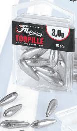 Torpille, 0.75gr-15gr.